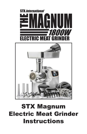 STX Magnum Instructions