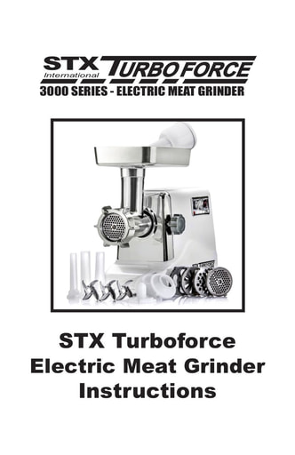 STX Turboforce Instructions